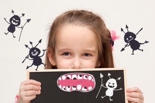 見えない虫歯を発見して治療する
