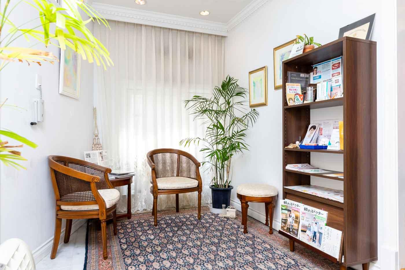 歯医者の待合室